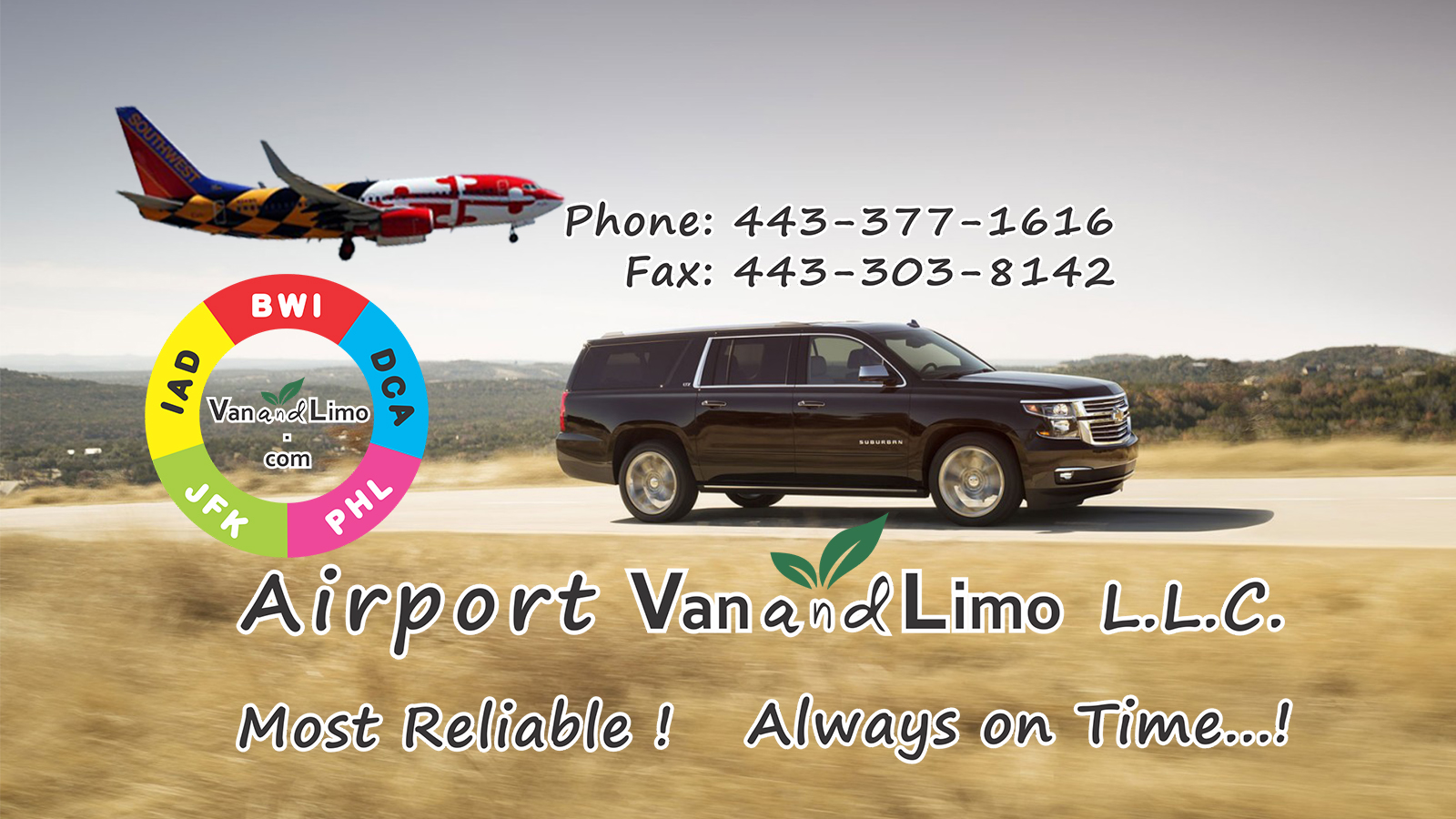 BWI Airport Taxi Cab